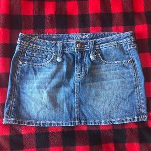 Miss Me jean skirt
